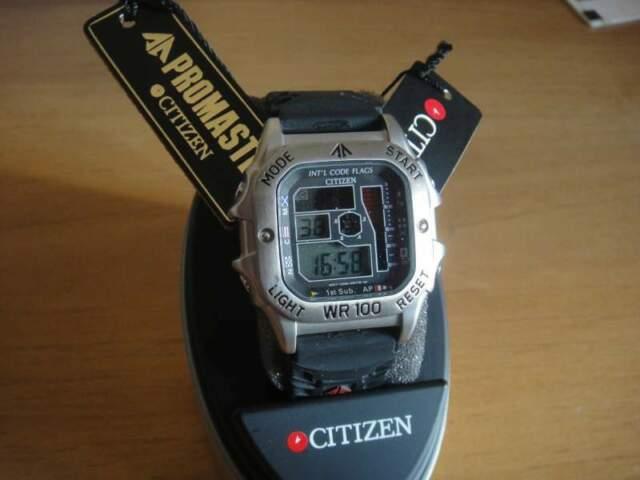 CITIZEN orologio vintage promaster WR 100