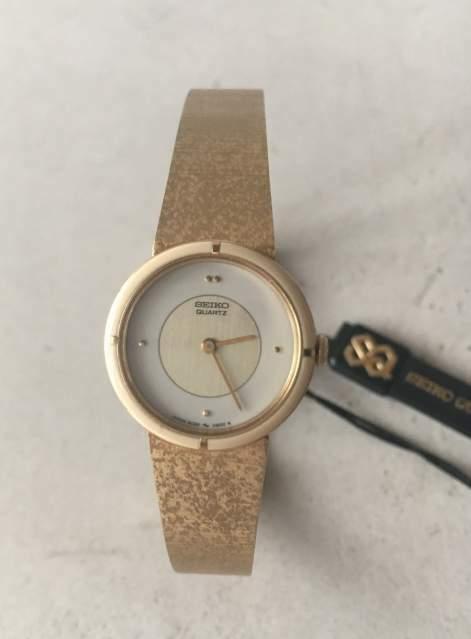 Elegante orologio Seiko Watch Japan donna