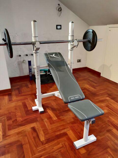 Panca Piana Domyos per allenamento palestra indoor