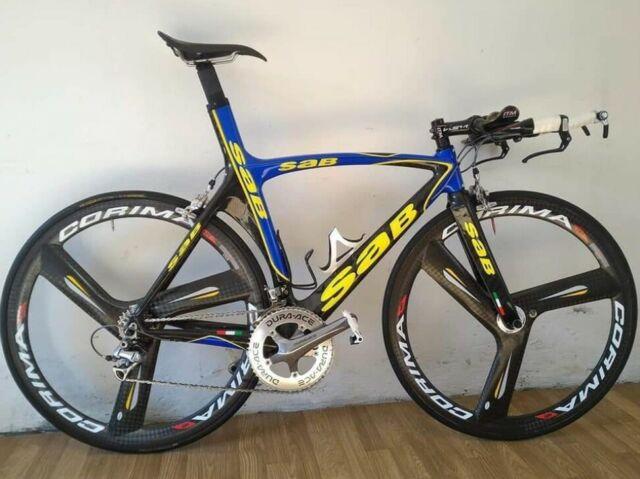 Bici carbonio ruote Corima
