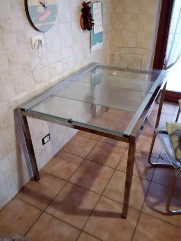 Tavolo Ikea Allungabile Vetro.Tavolo Allungabile Ikea Bjursta 4 Sedie Posot Class