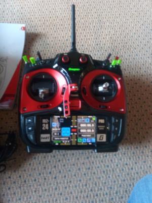 RADIO GRAUPNER MZ24 PRO