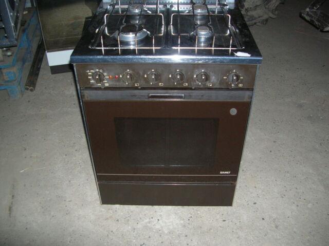 Stufa (fornello a gas) a 4 fuochi + forno elettrico SAMET