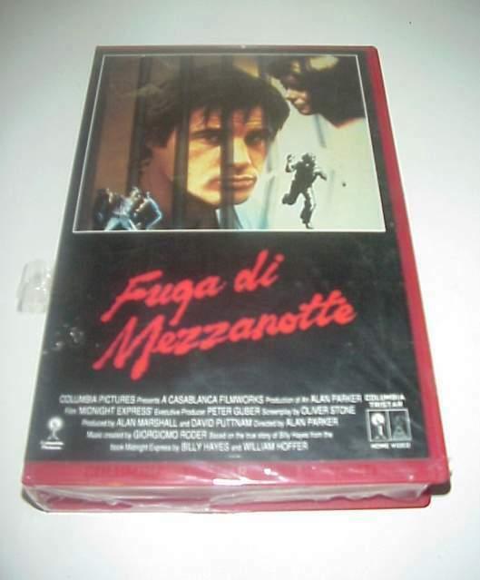 Fuga di Mezzanotte film vhs videocassetta video cassetta