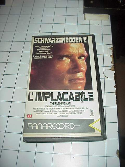 L'IMPLACABILE vhs videocassetta film raro originale ex nolo