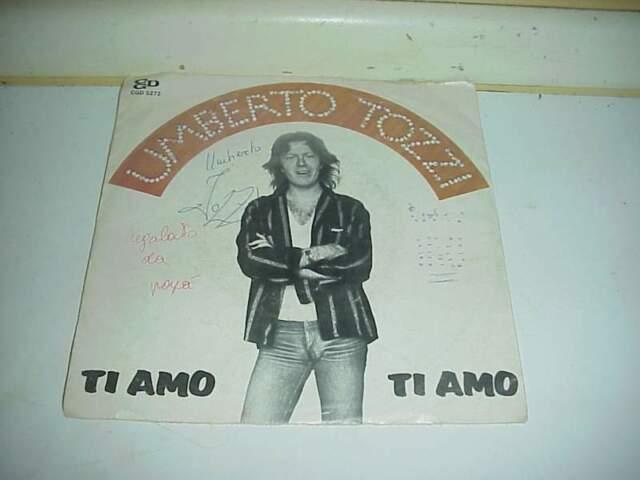 Umberto tozzi ti amo disco lp 45 giri vinile
