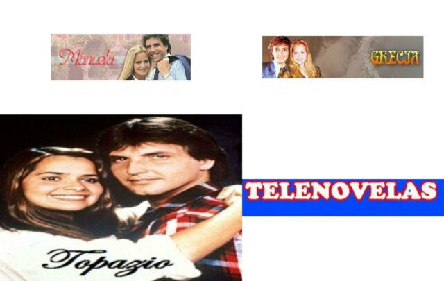 .3 Telenovelas, Manuela Topazio e Grecia