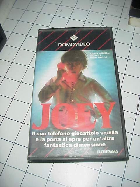 JOEY vhs videocassetta film raro originale ex nolo nolo