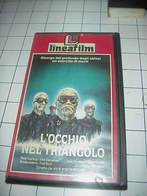 L'OCCHIO NEL TRIANGOLO vhs videocassetta film cinema