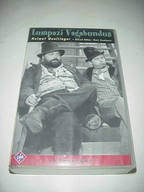 Lumpazi vagabundus vhs videocassetta film helmut qualtinger