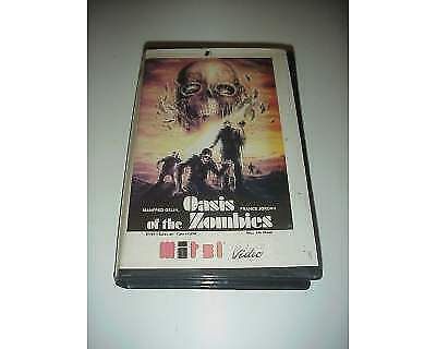 OASIS OF THE ZOMBIE vhs film ex nolo noleggio originale raro