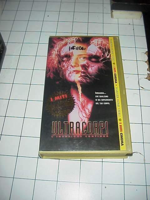 ULTRACORPI vhs videocassetta film raro originale ex noleggio