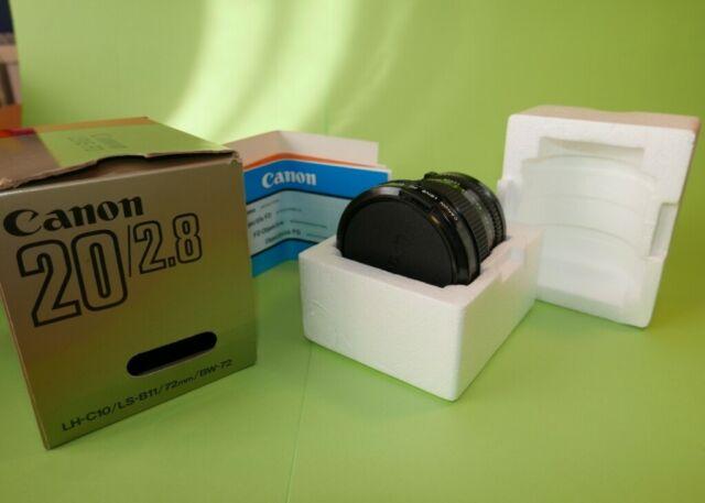Obiettivo Canon FD 20mm f/2.8
