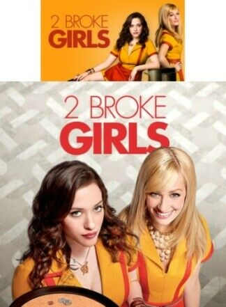 2 Broke Girls Serie tv completa,, Serie completa