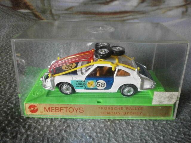 Mebetoys 1/43: Porsche Rallye A51 - NUOVA con SCATOLA