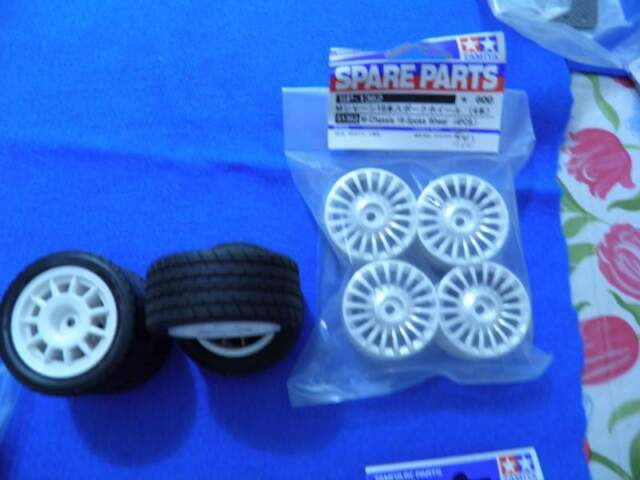 Ruote per rc touring 1/12 varie