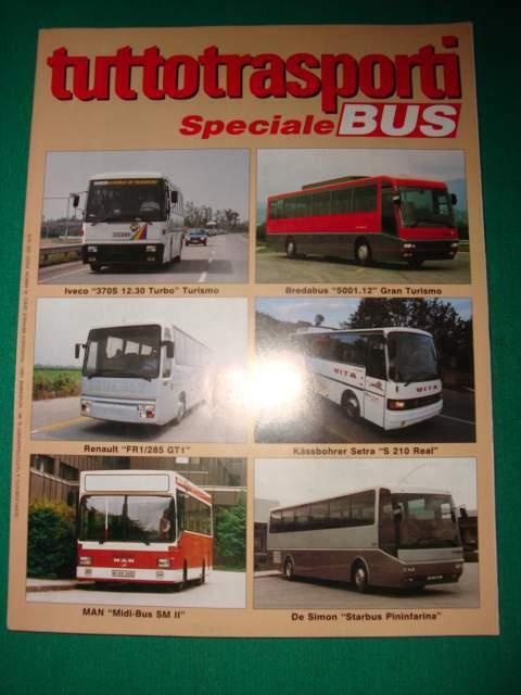 Tuttotrasporti rivista camion autocarri SPECIALI BUS