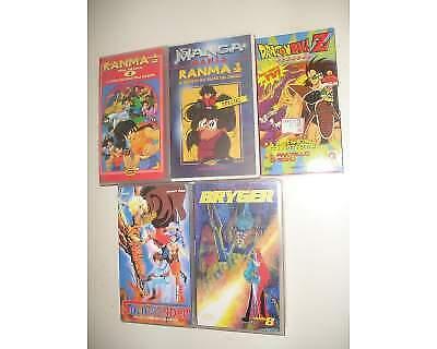 VHS Ranma, Dragon Ball ecc