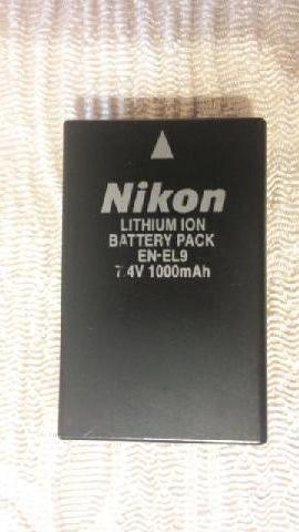 BATTERIA NIKON EN-EL9 PER NIKON D40