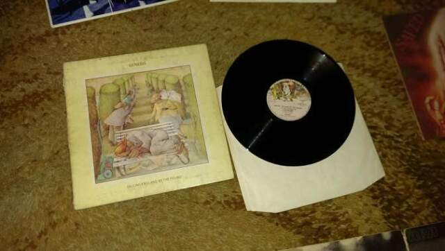 Genesis selling england by pound disco vinile lp 33 giri