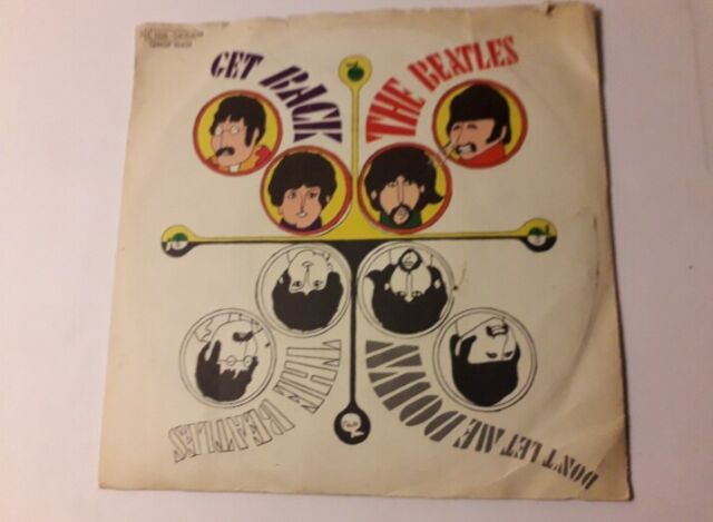 The Beatles 45 giri Get back