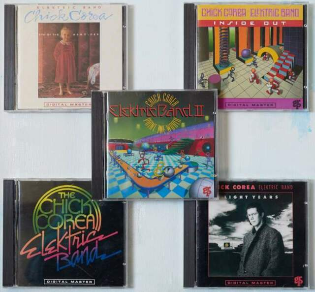 5 CD di Chick Corea Electric Band