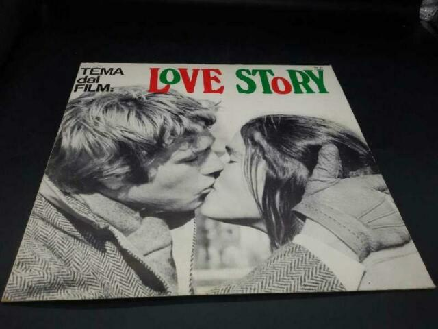Disco 33 giri tema dal film love story