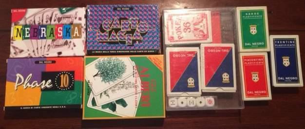 Giochi e carte Dal Negro + Marca Stella