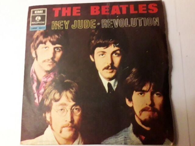 The Beatles 45 giri Hey Jude