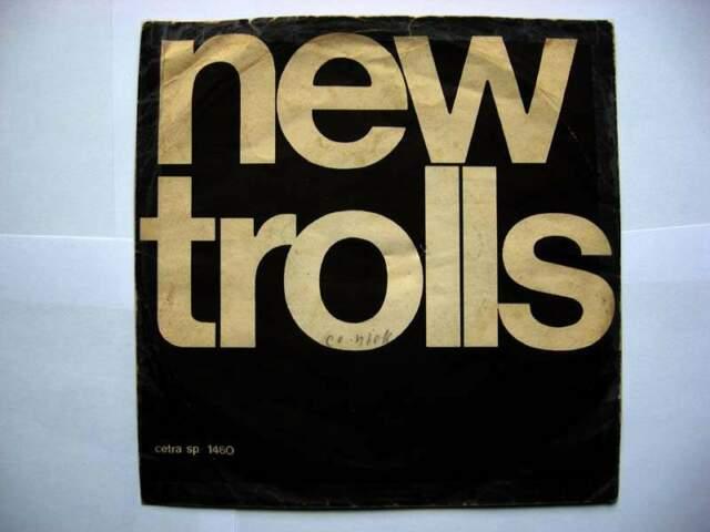 Vinile 45 giri del -New Trolls-la prima goccia bagna il