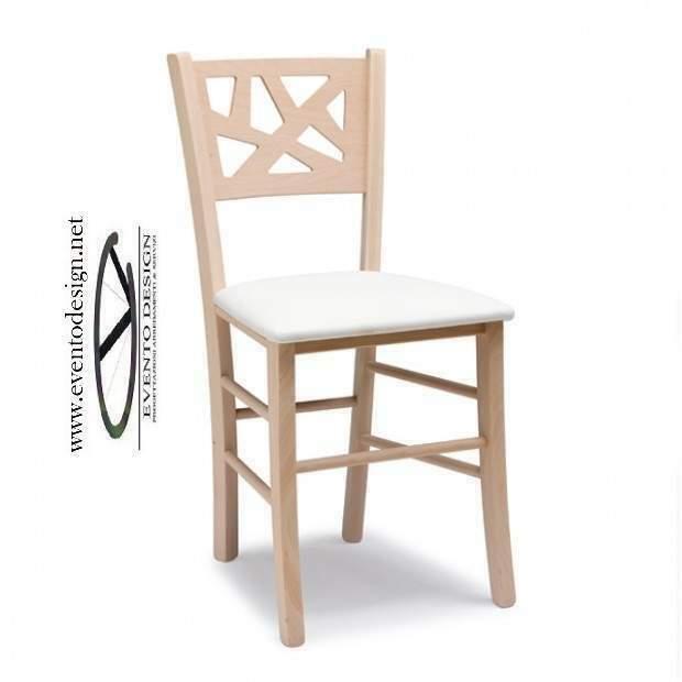 Sedie legno moderne in faggio