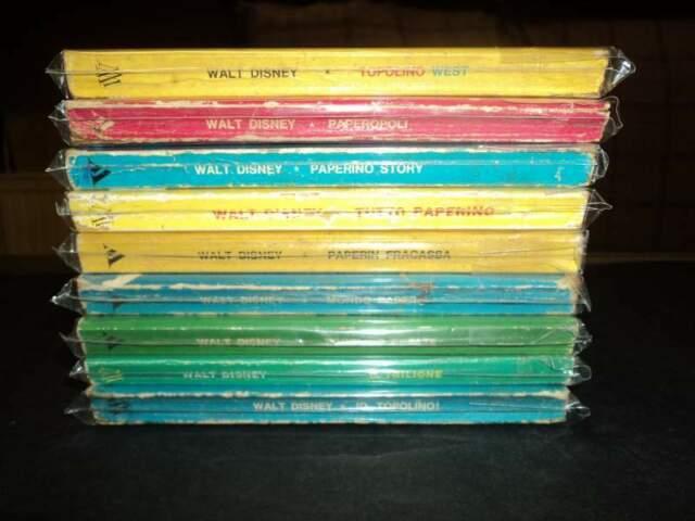 I classici di WALT DISNEY I serie lotto di 9 p.