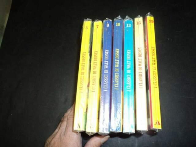 I classici di WALT DISNEY II s. lotto di 7 p. eccellenti