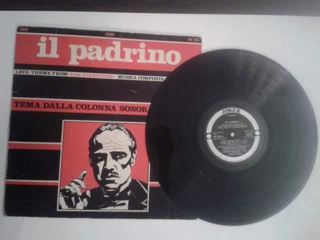 Il PADRINO -colonna sonora del film- Disco in vinile