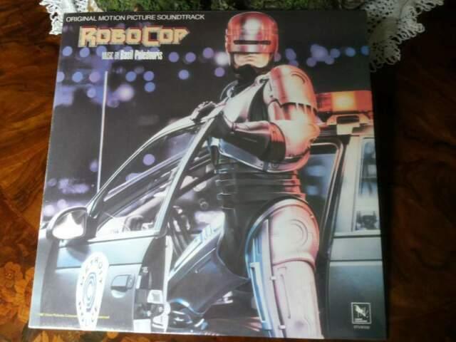 ROBOCOP lp original soundtrack  sigillato Usa STV