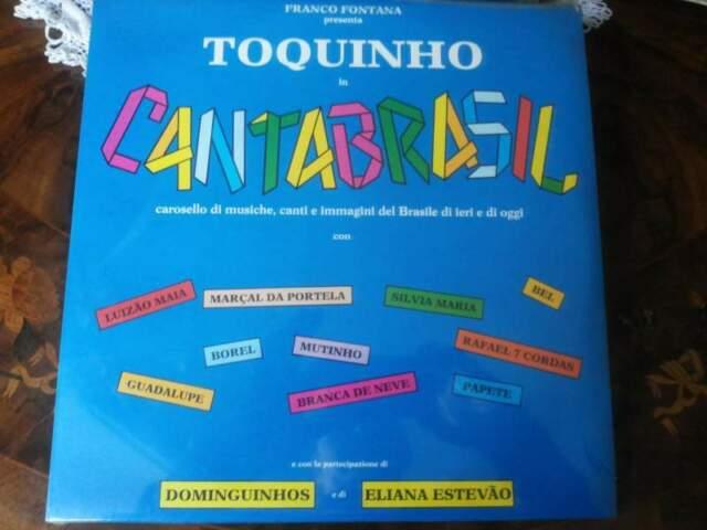 TOQUINHO in cantabrasil lp sigillato  CGD