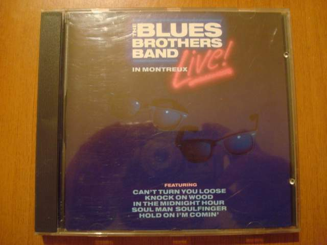 The blues brothers band in montreux live - cd musicale raro