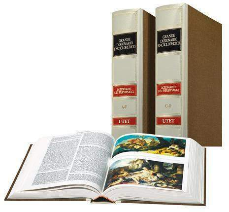 Utet Dizionario dei Personaggi letterari 3 volumi