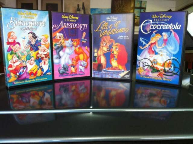 Vhs Walt Disney Prima Edizione e Non
