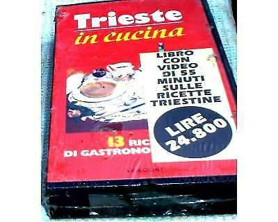 """Video Cassetta da 55 minuti """"Trieste in Cucina"""" VHS"""