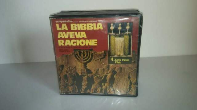 Film super 8mm LA BIBBIA AVEVA RAGIONE (colore sonoro)