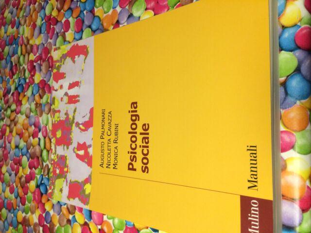 Libro di Psicologia Sociale di Palmonari Cavazza e Rubini