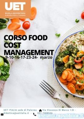 Corso di Food Cost Management - UET ITALIA sede di Palermo