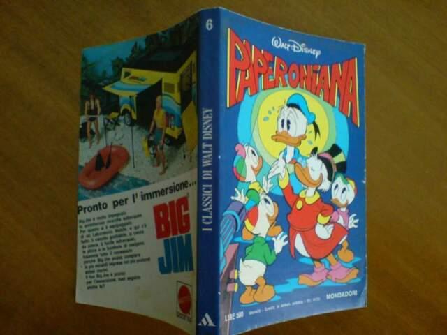 Classici Walt Disney n.6 - Paperoniana