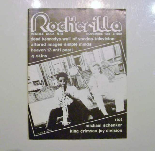Rivista ROCKERILLA nr 18