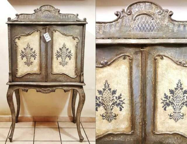"""Shabby Chic Provenzale Mobile Bar """" Anaïs """""""