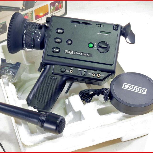 Cinepresa EUMIG Sound 128 XL - Super 8