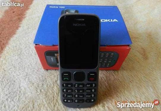 Nokia 100 con scatola ottima ricezione torcia - solo sim
