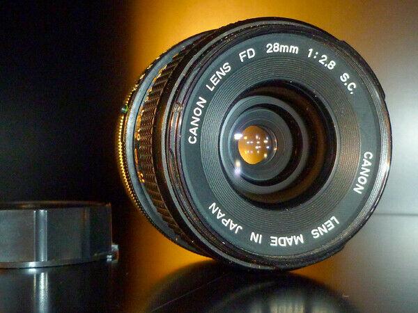 Obiettivo Canon FD 28mm f/ 2.8