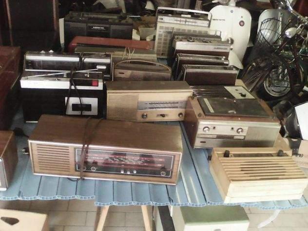 Radio, giradischi, stereo 7, 8, valvole e ricanbi vari